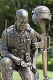 POW MIA Purple Heart żołnierza pomnik obraz royalty free
