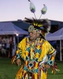 Pow-wauw Danser Stock Afbeelding