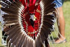 Pow wauw in de 27ste Jaarlijkse Echo's van Kahnawake van een Trotse Natie Royalty-vrije Stock Afbeeldingen