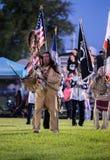 Pow-wauw Openingsceremonie Royalty-vrije Stock Foto