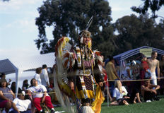 Pow wow. Dancing show on Pow Wow in California royalty free stock images