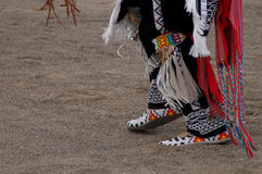 Pow-Wow. Native American, dancing Royalty Free Stock Image