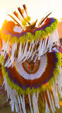 Pow Wow Costume Royalty Free Stock Photography