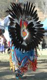 Pow Wow Dancer Stock Photo
