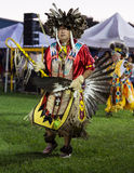Pow-wow Dancer Royalty Free Stock Photography