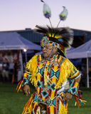Pow-wow Dancer Stock Image
