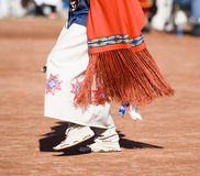 Pow Wow Dancers. Native American dancers in traditonal rigalia perform during a Pow Wow stock photos