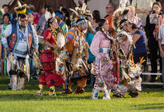Pow-wow Dancers Stock Photography