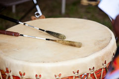 Pow Wow Drum Stock Photography