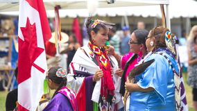 Pow-wow at Fort York, Toronto Stock Images
