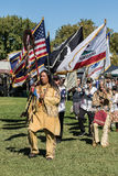 Pow-Wow Opening Ceremony Royalty Free Stock Photography