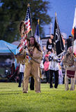 Pow-Wow Opening Ceremony Royalty Free Stock Photo