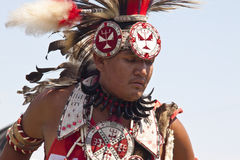 Pow wow at pine ridge south dakota. The pow wow lakota at pine ridge,south dakota is the first week end of august,is a gathering of all the people staying in the royalty free stock photos