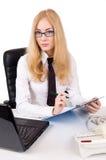 poważni bizneswomanów szkła obraz stock