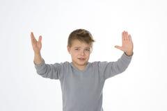 Poważny kłopot dla dzieciaka Fotografia Stock
