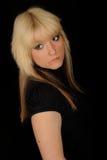 poważna portret kobieta Zdjęcia Royalty Free