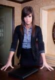 Poważny bizneswoman Fotografia Stock