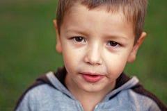 Poważny dziecko Fotografia Royalty Free