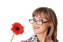 Powabna młoda biznesowa kobieta Fotografia Stock