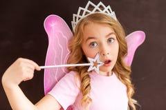 Powabna mała czarodziejka Obraz Royalty Free