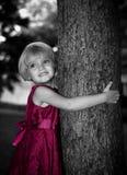Powabna mała dziewczynka Obraz Royalty Free
