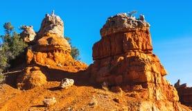 Powabna rockowa formacja bryce jar hoodoos park narodowy Zdjęcia Royalty Free