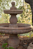 Powabna stara fontanna obrazy stock