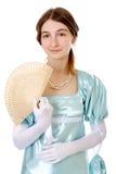 powabni damy wiktoriański potomstwa Zdjęcia Royalty Free
