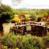 Powabny zielarski ogród w Szkocja Fotografia Royalty Free