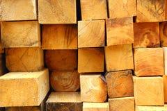 Powalać drewno Obrazy Royalty Free