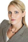 Poważna biznesowa kobieta Zdjęcie Stock