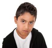 poważny mały mężczyzna Fotografia Stock