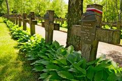 Powazki Military Cemetery in Warsaw, Poland. Stock Images