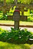 Powazki Military Cemetery in Warsaw, Poland. Stock Photo