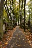 Powazkibegraafplaats royalty-vrije stock afbeelding
