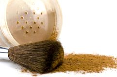 Free Powder And Brush Royalty Free Stock Image - 4308596