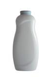 Powder bottle isolated on white Stock Photo
