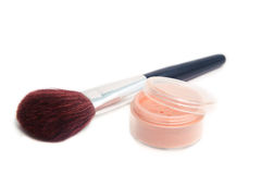 Powder brush Stock Photography