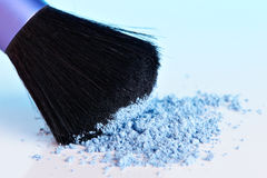 Powder and brush Stock Photos
