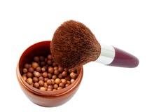 Powder brush Stock Photography