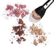 Powder brush make up beauty Stock Photos