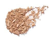 Powder brush make up beauty Stock Photo