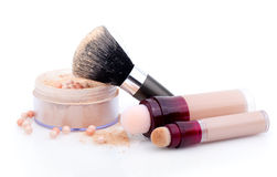 Powder cosmetic Royalty Free Stock Photography