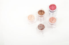 Powder eye shadows Royalty Free Stock Photo