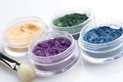 Powder eyeshadow Royalty Free Stock Images