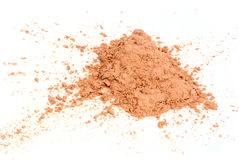 Powder for the face Stock Photo