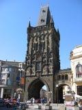 Powder gate. Powder gate (build in 1475). Prague, Czechia Royalty Free Stock Photos