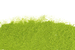 Powder of green tea matcha Royalty Free Stock Image