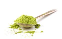 Powder green tea Stock Images