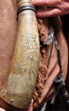 Powder horn Stock Photos